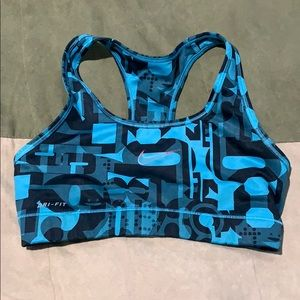 Nike Dri Fit sports bra size small